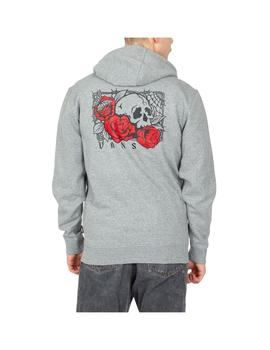 Sudadera Vans Rose Bed Po Cement Heather Hombre