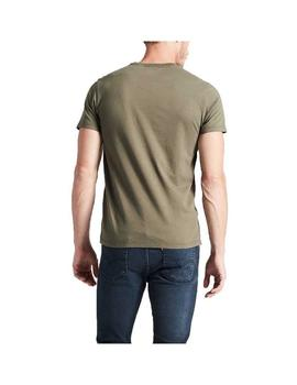 Camiseta Levis Original Hm Olive Night Hombre