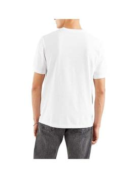 Camiseta Levis Relaxed Fit Logo Mv White Hombre