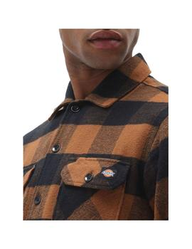 Camisa Dickies New Sacramento Brown Duck