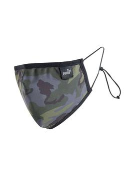 Mascarilla Puma Core Face Mask Forest Night Camo U