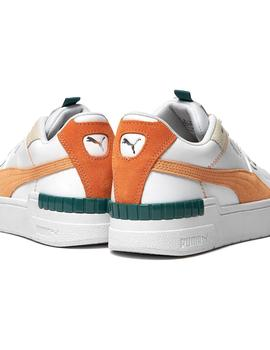 Zapatillas Puma Cali Sport Mix Wn's White-Peach Co