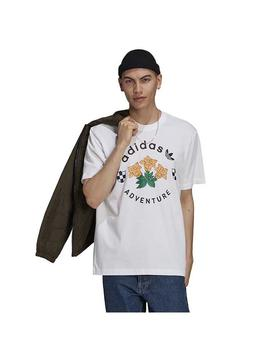 Camiseta Adv Flowers Blanco