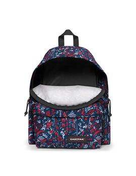 Mochila Eastpak Padded Pak'R Scribble Red Unisex