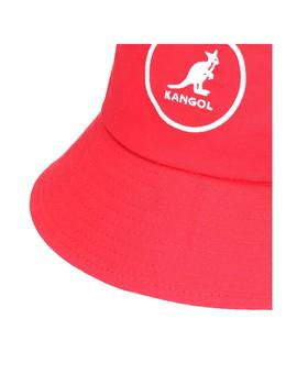 Gorro Kangol Cotton Bucket Rojo Unisex