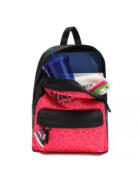 Mochila Vans Girls Realm Backpack Fuchsia Purple Unisex