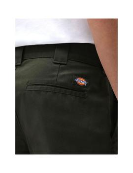 Bermudas Dickies Slim Fit Olive Green Hombre