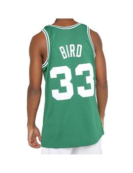 Camiseta Mitshell - Ness Boston Celtics Larry Bird