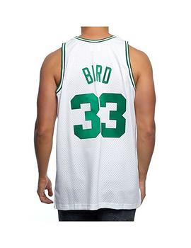 Camiseta Mitshell - Ness Boston Celtics Larry Bir Unisex