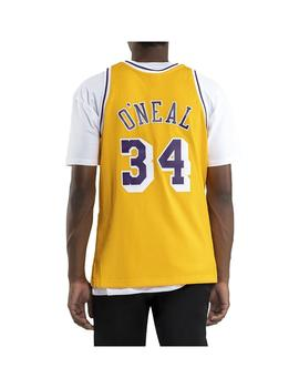 Camiseta Mitshell - Ness Los Angeles Lakers Shaqfi