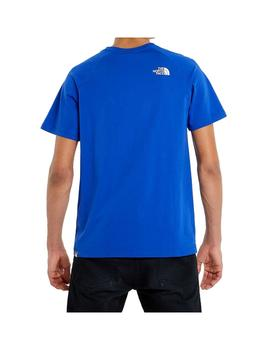 Camiseta The North Face S/S Raglan Redbox Tnf Blue Hombre