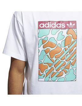 Camiseta Adidas Summerongue L Blanco Hombre