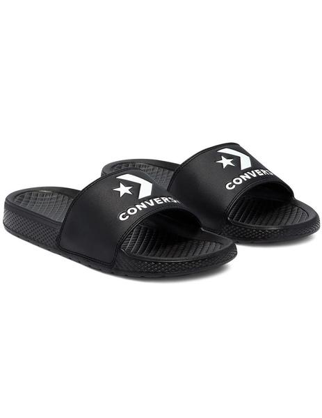 Chanclas Converse All Star Slide Slip Black/White Mujer