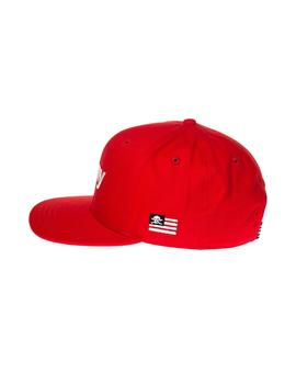 GORRA GRIMEYTHE LUCY PEARL SNAPBACK ROJO HOMBRE