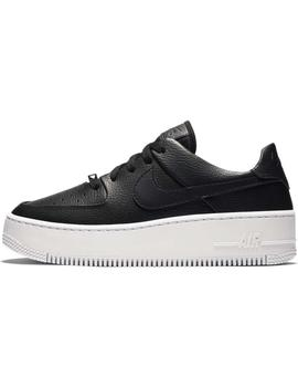 ZAPATILLAS NIKE AF1 SAGE LOW BLACK/BLACK