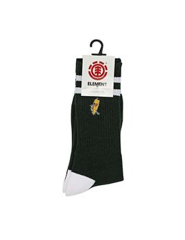 CALCETINES ELEMENT YAWYD SOCKS VERDE HOMBRE