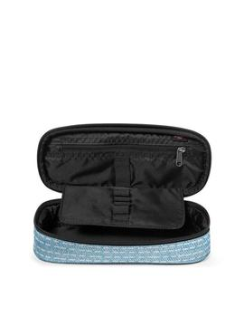 ESTUCHE EASTPAK OVAL SINGLE STITCH AZUL UNISEX