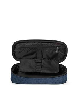ESTUCHE EASTPAK OVAL SINGLE STITCH CROSS AZUL UNISEX