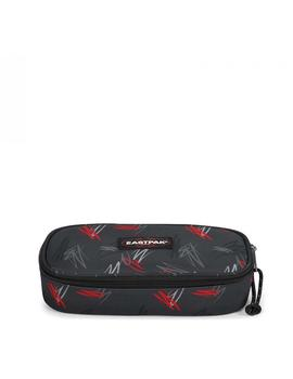 Estuche Eastpak Oval Single Scribble Negro Unisex