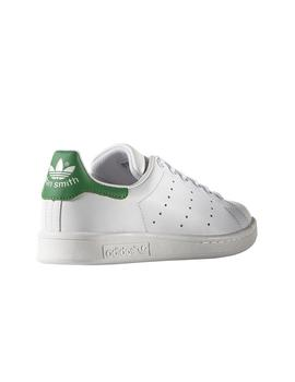 ADIDAS STAN SMITH JUNIOR BLANCO/VERDE MUJER