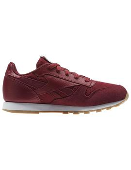 ZAPATILLAS REEBOK CL LEATHER ESTL GRANATE