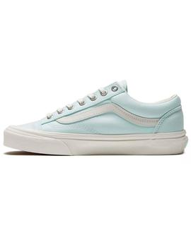 Zapatillas Vans Style 36(Brushed) Azul Mujer