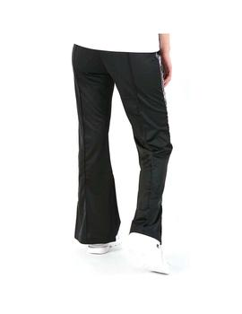 Pantalon Champion Straight Hem Pants Negro Mujer