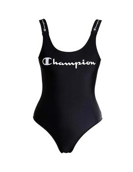 Bañador Champion Swimming Suit Negro Mujer