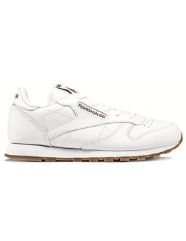 ZAPATILLAS REEBOK CLASSIC LEATHER NIÑO BLANCO