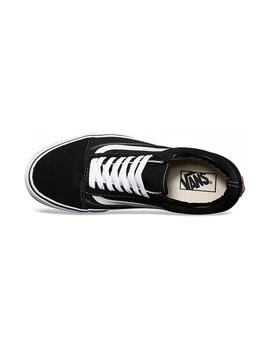 ZAPATILLAS VANS KIDS OLD SKOOL NEGRO