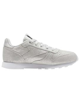 ZAPATILLAS REEBOK CLASSIC LEATHER CLASSIC GRIS NIÑOS