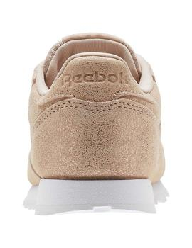 ZAPATILLAS REEBOK CLASSIC LEATHER MARRON NIÑOS