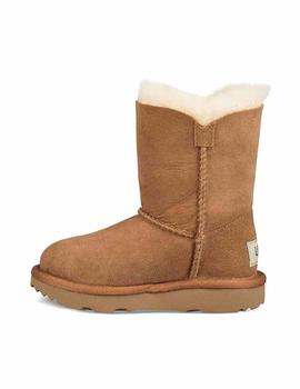 BOTAS UGG BAILEY BUTTON II MARRON KIDS