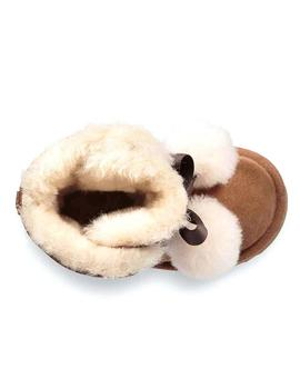 BOTAS UGG K GITA CHESTNUT MARRON KIDS
