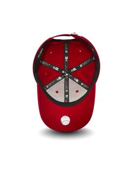 Gorra New Era MLB League Basic Neyyan Rojo Niños