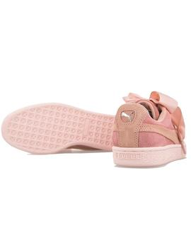 ZAPATILLAS PUMA SUEDE HEART PEBBLE PEACH